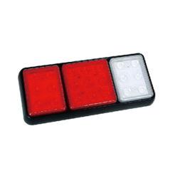 長方形LEDのトラックのテールライト、後部または停止または回転またはトレーラーの後部ライト