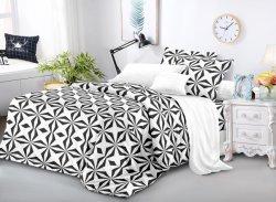 2021 New Design Polyester Microfiber Dispergeered Printed Bedsheet Fabric met Geborstelde export naar Europa en de VS