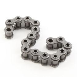 Catena industriale del rullo del breve del passo di precisione dell'acciaio inossidabile del hardware motociclo della trasmissione