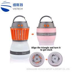 2 in 1 elektronischer beweglicher Insekt-Mörder-Licht USB Aufladung imprägniern für Haus u. reisende Moskito-Mörder-kampierende Lampe