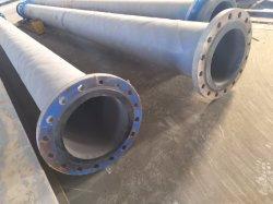 Tubo flessibile per liquame antivibrazioni rivestito con piastrelle in gomma e ceramica