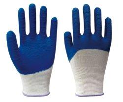 Sicherheits-Produkt-Latex-Schaumgummi-überzogene Aufbau-Handschuhe