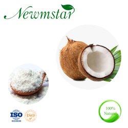 Leicht fetthaltiges ausgetrocknetes sofortiges organisches reines Kokosnuss-Massenpuder für Getränk