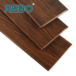Водонепроницаемый разработаны ветви из бамбука Carbonized деревянный пол, нажмите кнопку
