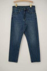أفضل سعر للنساء الجينز صديق الملاهى المتوسط الأزرق الكلاسيكي دينيم سروال جينز للسيدات
