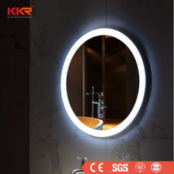 Защита от запотевания, утвержденном CE 5мм разорванные стеклянные ванные комнаты под руководством макияж наружных зеркал заднего вида