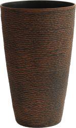 Tall Rodada Flower Pot- Plantadeira de pedra (KD8852SN-KD8853SN)
