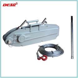 El equipo de elevación 3,2 ton Extractor de cuerda Tirfor de cable de acero