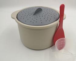 O plástico BPA-Free vaporizador de microondas