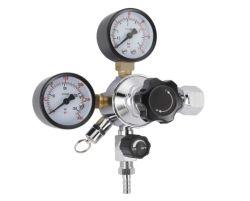 CO2 ドラフトビール分注レギュレータ、 0 ~ 60 psi 低圧、 0 ~ 3000 psi 高圧ゲージ、 CGA-320 Kegerator レギュレータ
