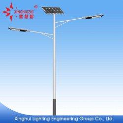 Strada urbana rurale solare esterna personalizzata della lampada di via di risparmio di energia LED nuova che illumina la lampada di via solare Integrated
