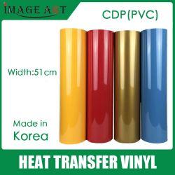 t-셔츠 인쇄를 위한 한국 고품질 열전달 비닐/필름 PVC (일반적인 색깔)