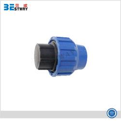 Fontes de canalizações de PP conexões de compressão Plug