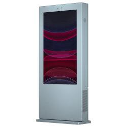 Chiosco interattivo esterno cosmetico di riserva dello schermo di tocco del contrassegno dell'affissione a cristalli liquidi Digital con VGA/HD un tocco del 2/4/6/8 di punto