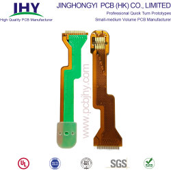 Face dupla FR4 Flexível PCB FPC Board com óleo de verde a soldadura