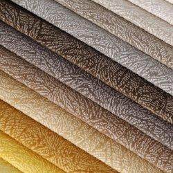 Envie d'aspect naturel de la colle Emboss canapé Clolorful Sellerie tissu tissu/