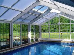2mm pour toiture en polycarbonate transparent de tôle ondulée sur