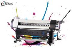 طابعة نفث الحبر ذات التصميم الكبير لنقل الحرارة للطباعة على النسيج