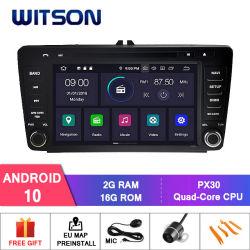 Android Witson10 Autoradio pour Skoda Octavia 2004-2011 WiFi GPS lecteur de DVD
