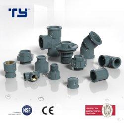 La plastica del PVC (CPVC/PPR /PP/ PPH) ha saldato l'OEM di offerta dell'accessorio per tubi di pressione NBR5648