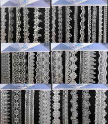 2021 Nouveau tissu broderie hydrosolubles dentelle 3D Fleur dentelle de mariée