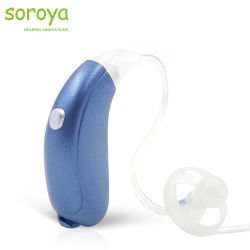 Mini Digital Abra Montar amplificador de som Bluetooth Hearing Aid