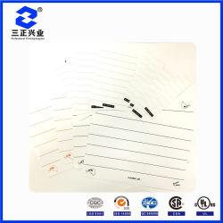 Disegno personalizzato di vari formati del taccuino rivestito cancellabile e scrivibile