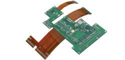 Системная плата гибкой печатной платы кнопки Двусторонняя гибкие PCB гибких печатных плат для деталей двигателя