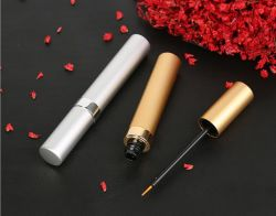5ml de alumínio Cosméticos Tubo Mascara Custom prateadas eyeliner branco garrafas