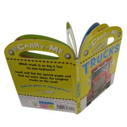 Diseño personalizado de lectura de los niños al por mayor de manejar el cartón impresión de libros