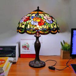 Lampada da tavolo da 40 cm con lampada da lettura stile Dragonfly E27 (WH-TTB-26)