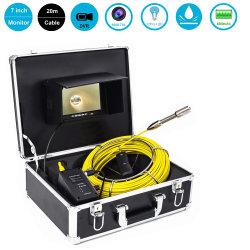 水中 CCTV 120 度ビュー HD スウォーアプッシュパイプ検査 カメラ( 20/30/40/50 m グラスファイバーケーブル付き
