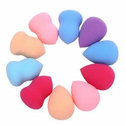 Maquillage Beauté Forme ronde de gouttelettes d'eau de la bouffée de cosmétiques éponge de maquillage