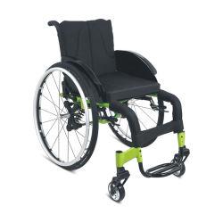 2020 nieuwe Ultra Lightweight Handbediende Sport rolstoelen met ophangingssysteem