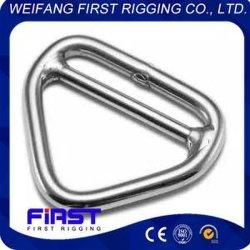 Triángulo de metal de acero inoxidable de hardware de los Anillos