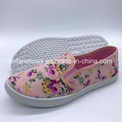 مصنع نمط نساء حقنة [كسول شو] [كنفس شو] حذاء ([زل0806-4])