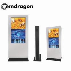 """Full HD ЖК-дисплей рекламы напольная подставка Ad дисплея 55 дюймов рекламной стороны вентиляторы"""" широковещательных ЖК монитор LED Digital Signage"""