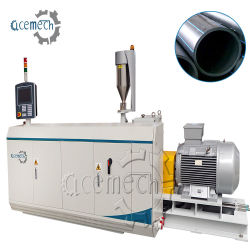 プラスチック単層の多層排水または下水または水ガス供給ケーブルは単一ねじプラスチック押出機が付いているPE LDPEのHDPEの管の放出機械を保護する
