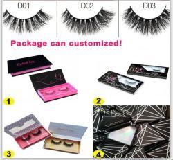 Business Logoの高品質3D Mink Eyelashes Custom Box