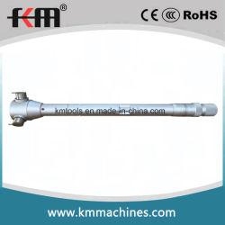 Alta calidad de 50-70mm micrómetro interno de tres puntos con los anillos de ajuste de 50mm