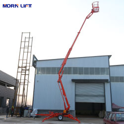 10 ~ 22m トラック取付け可搬式油圧式けん引可能 / トレーラアーティキュレート空中作業 / 作業リフト プラットフォーム