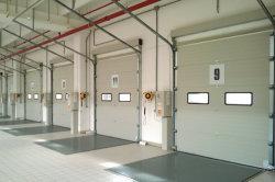 La plus rentable d'acier industriel Insualted thermique automatique de la préservation de la chaleur de PU L'étanchéité de l'air faible valeur U des frais généraux pour le centre de logistique de la porte de coupe