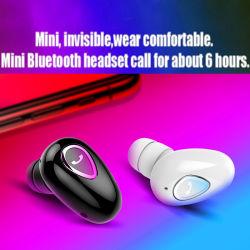 Le cuffie avricolari senza fili del trasduttore auricolare di Yx-01 Bt4.1mini Bluetooth in orecchio Earbuds mette in mostra il trasduttore auricolare