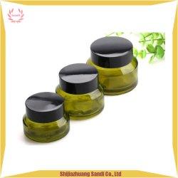 Оптовая торговля зеленый желтый стеклянный кувшин блендера косметический уход за кожей для продажи