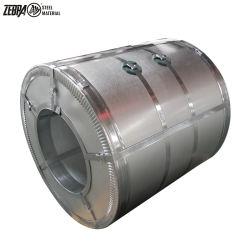 Gl/HDG/GP/Ga Dx51d revestimiento aluminizado acero laminado en frío, Z80 tira de bobinas de acero Galvalume