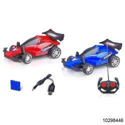 1: 16 de R/C Los juguetes de 4 canales de control remoto de carreras de coches con la luz (10298446)