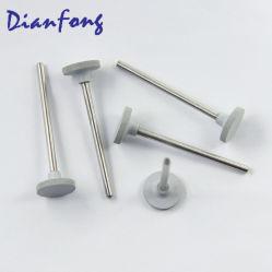 C205c (ISO 658 104 041 534 020) 11mm Blanc grossier de produits de laboratoire dentaire Dental Roue en caoutchouc de silicone