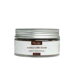 Arabica exfoliación corporal Cuidado de la piel acné Tratamiento Anti Celulitis Café