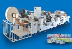 400 PCS/Min Lenço Machine Mini Pasta Hanky impressas em relevo lenço