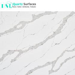L'imitation de marbre Calacatta Gold l'homme Dalle de quartz